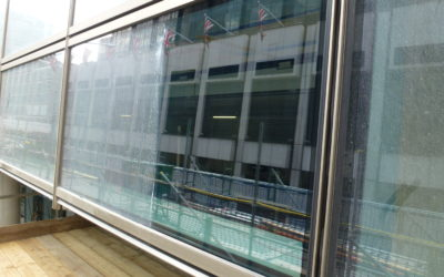Restoration of Glazing and Gold Anodised Facade