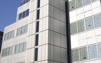 Restoration of Anodised Aluminium Building Facade
