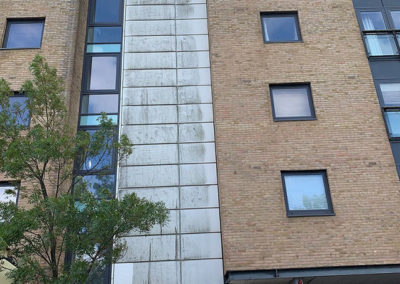 External Building Doff Clean Before