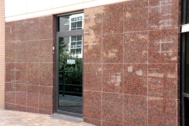 Natural Stone Granite Facade After
