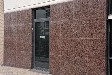 Natural Stone Granite Facade Before