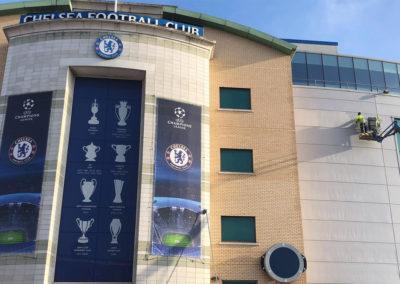 Facade Restoration at Chelsea FC