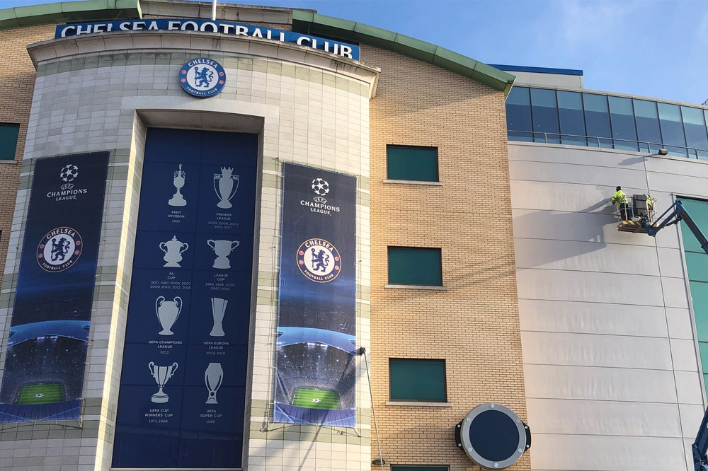 Facade Restoration at Chelsea FC